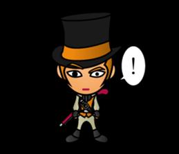 Diamond Pirate-English sticker #865798