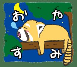 KOGUMANEKOsticker(Japanese version) sticker #868122