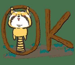 KOGUMANEKOsticker(Japanese version) sticker #868127