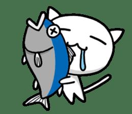 white kitten sticker #868771