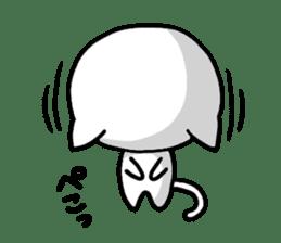 white kitten sticker #868780