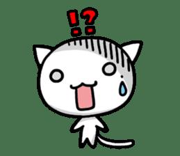 white kitten sticker #868787