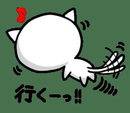 white kitten sticker #868797