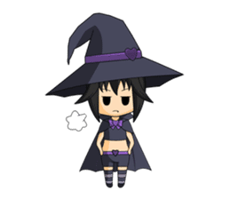 Little Fun witch sticker #869760