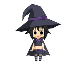 Little Fun witch sticker #869763