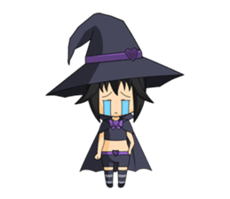 Little Fun witch sticker #869764