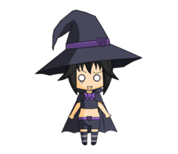 Little Fun witch sticker #869766