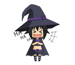 Little Fun witch sticker #869770