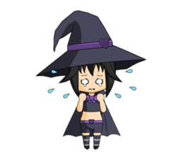 Little Fun witch sticker #869772