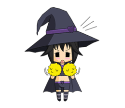 Little Fun witch sticker #869781