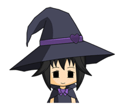 Little Fun witch sticker #869788