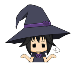 Little Fun witch sticker #869793