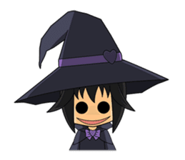 Little Fun witch sticker #869798