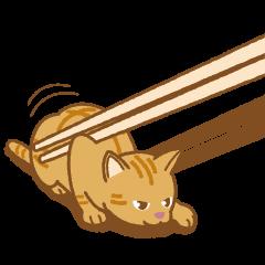 "Chopstick rest cat ""Yasubei"""