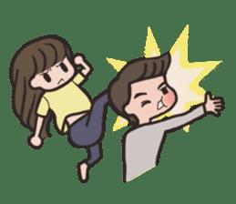 HIM & HER sticker #871102