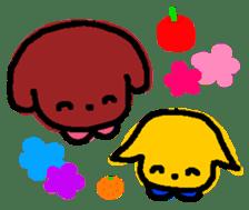 Ringo and Mikan sticker #872839