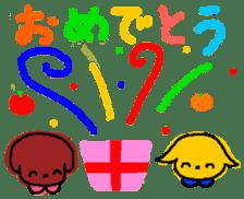 Ringo and Mikan sticker #872873