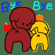 Ringo and Mikan sticker #872876