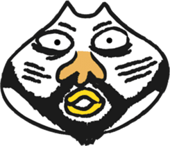 Funny cat sticker #874202