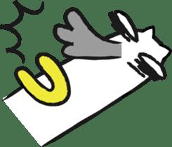 Funny cat sticker #874216