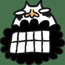Funny cat sticker #874219