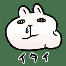 The Strange Rabbit sticker #874762