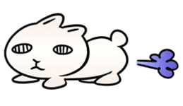 The Strange Rabbit sticker #874763