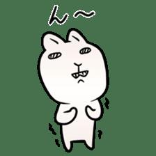 The Strange Rabbit sticker #874766