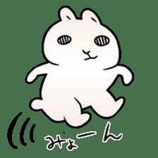 The Strange Rabbit sticker #874770