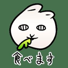 The Strange Rabbit sticker #874773