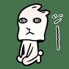 The Strange Rabbit sticker #874780