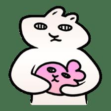 The Strange Rabbit sticker #874784