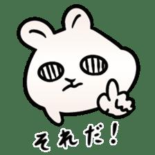 The Strange Rabbit sticker #874787