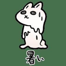 The Strange Rabbit sticker #874789