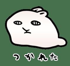 The Strange Rabbit sticker #874792