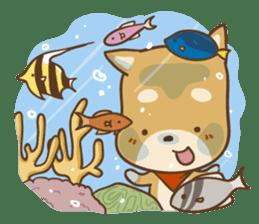 SHIBACORO's sticker -holiday edition- sticker #878265