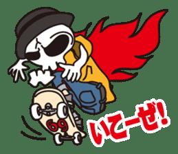 Skull life 2 Japanese version sticker #878442