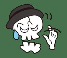 Skull life 2 Japanese version sticker #878467