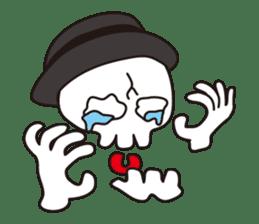 Skull life 2 Japanese version sticker #878474