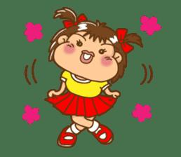 A happy girl, Noe sticker #878479