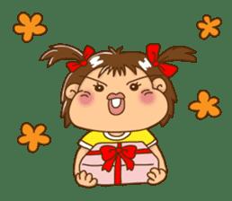 A happy girl, Noe sticker #878482