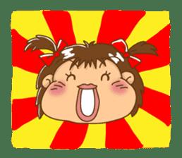 A happy girl, Noe sticker #878500