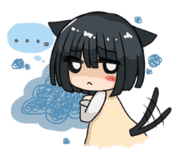 Along with the cat girl sticker #879163