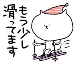 It is a sticker of a skiing & snowboard sticker #880214