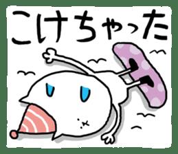 It is a sticker of a skiing & snowboard sticker #880224