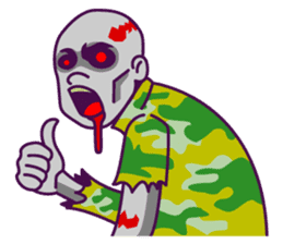 zombie pop sticker #881079