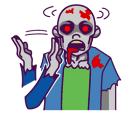 zombie pop sticker #881081