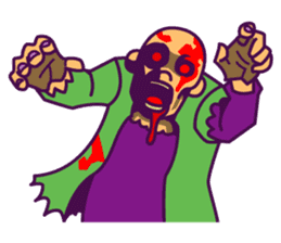 zombie pop sticker #881082