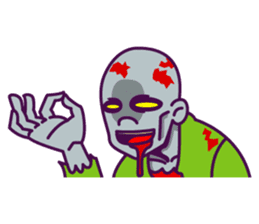 zombie pop sticker #881087