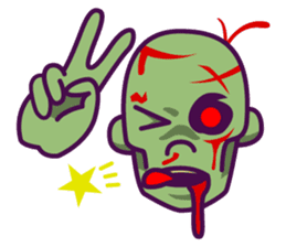 zombie pop sticker #881092